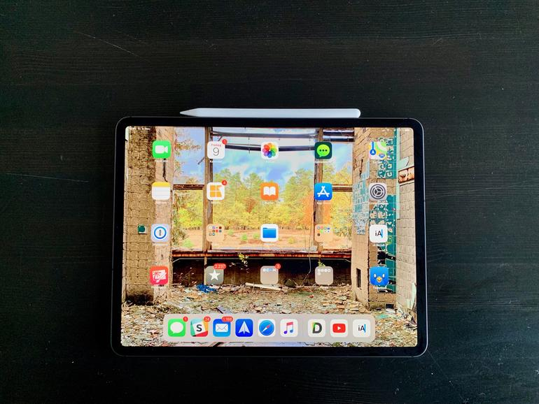 """Das """"Liquid Retina""""-Display des iPad Pro weiß zu beeindrucken."""