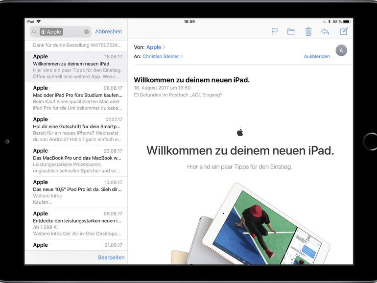 E-Mails auf dem iPad: Apple Mail, Inbox oder Spark?   Mac Life