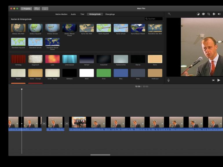 Schneiden Sie Videos mit iMovie unbeschwert zusammen