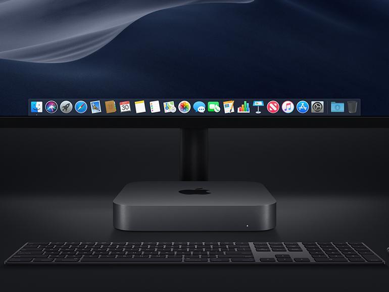 Der Mac mini erstrahlt nun in Space Grau