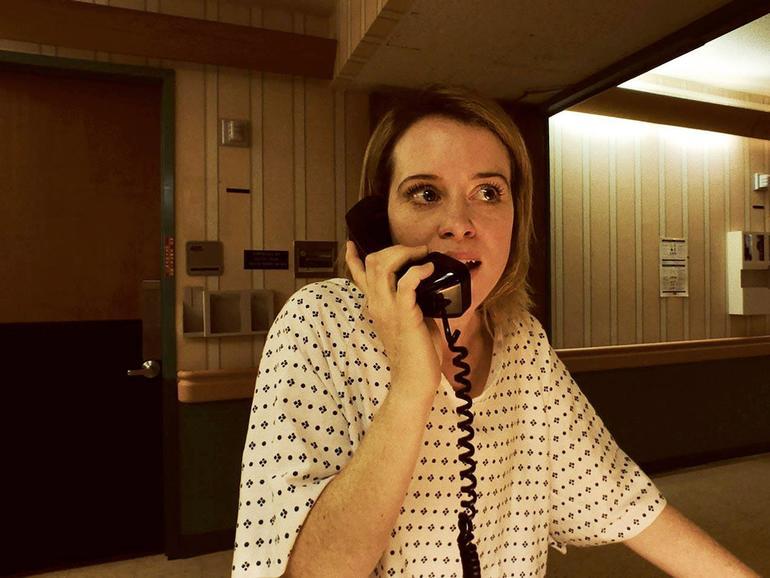 Claire Foy wirkt durch den Look der iPhone-Kamera in Unsane noch authentischer.