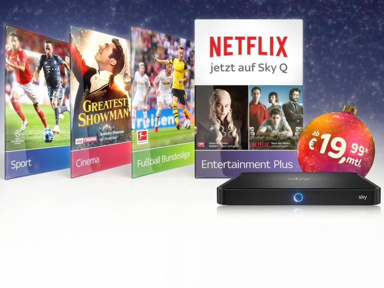 Sky jetzt mit Netflix