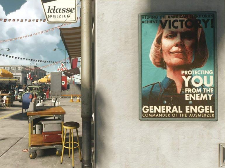 Screenshot aus Wolfenstein II: The New Colossus