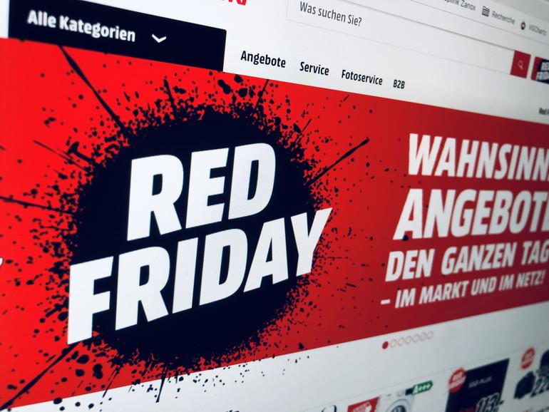 Red Friday bei Media Markt