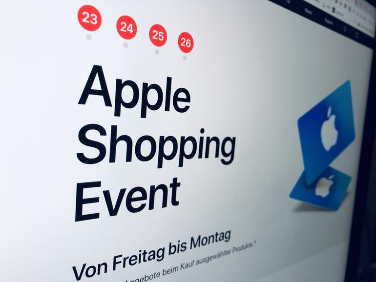 Apple Shopping Event