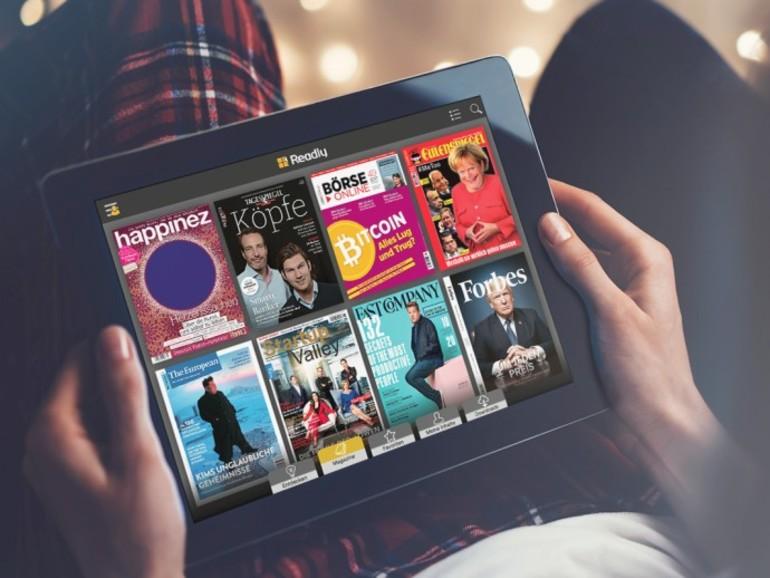 Lesen Sie bequem auf dem iPad über 3.600 Magazine
