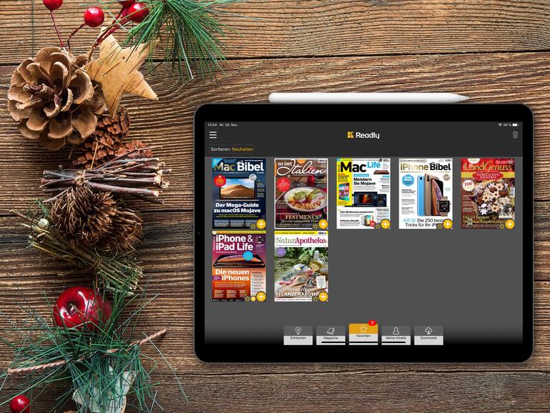 Readly sieht nicht nur auf dem neuen iPad Pro gut aus