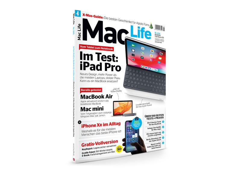 Die neue Mac Life ist da – mit iPad Pro, MacBook Air und Mac mini im Test