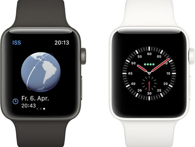 Apple Watch unterwegs einsetzen