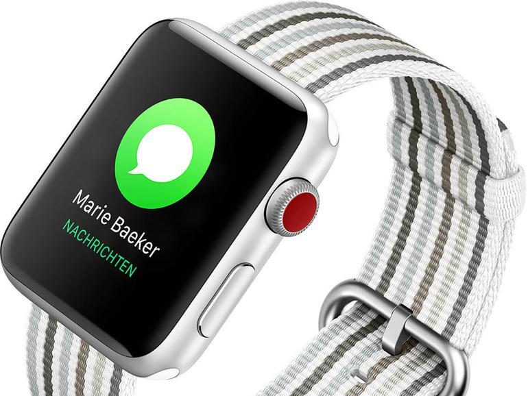 Mit der Apple Watch haben Sie ein echtes Kommunikationstalent am Handgelenk.