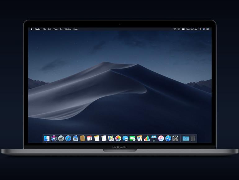 macOS Mojave auf einem MacBook Pro