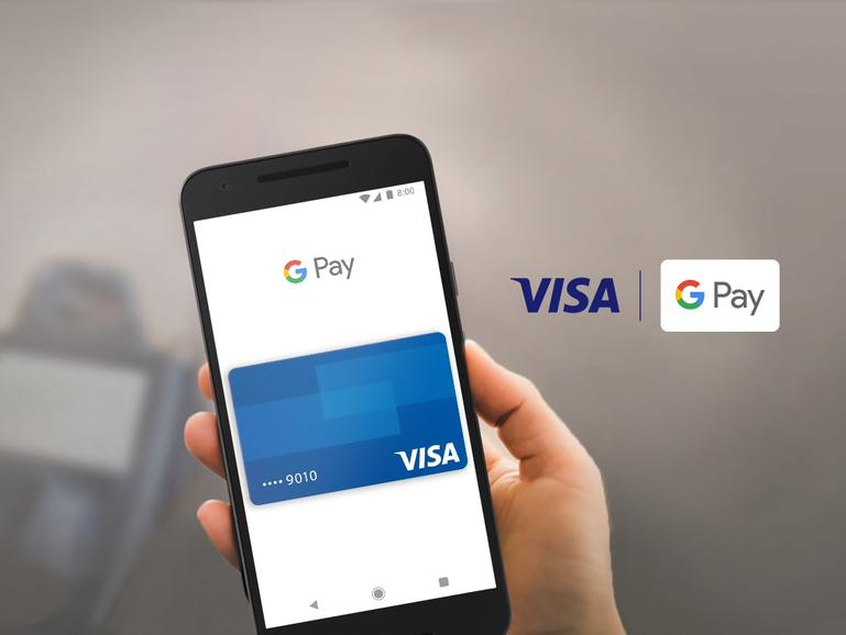 Google Pay mit Visa
