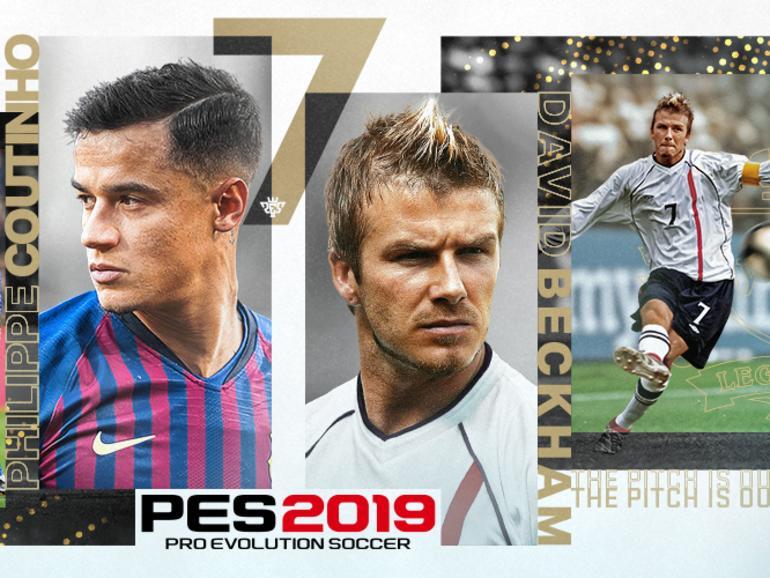 In PES 2019 sind Legenden wie David Beckham mit von der Partie