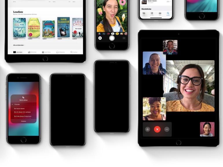 Apple veröffentlicht Beta von iOS 12.1.3