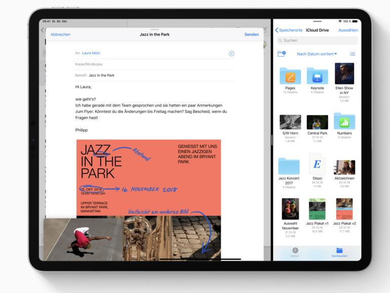 """iPad Pro 2018: Laut Apple sind Biegungen """"normal"""" und kein Defekt"""