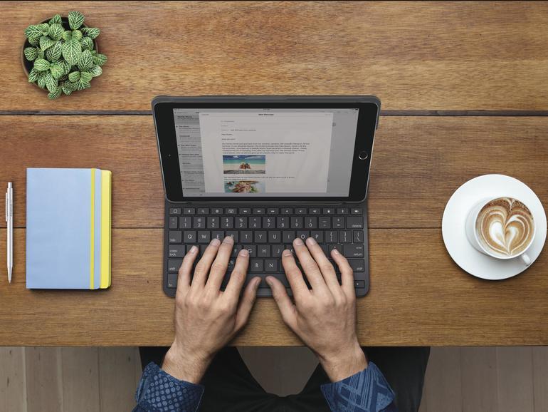 Logitech Slim Folio iPad Keyboard Case