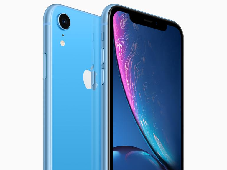 iPhone XR in Blau