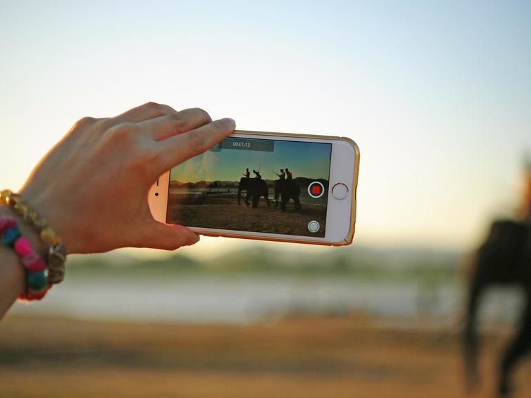 Filme aufnehmen mit dem iPhone