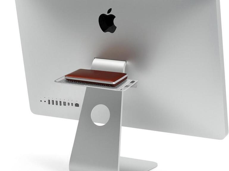 Mit dem Backpack nimmt Ihr iMac externe Festplatten ganz einfach huckepack.