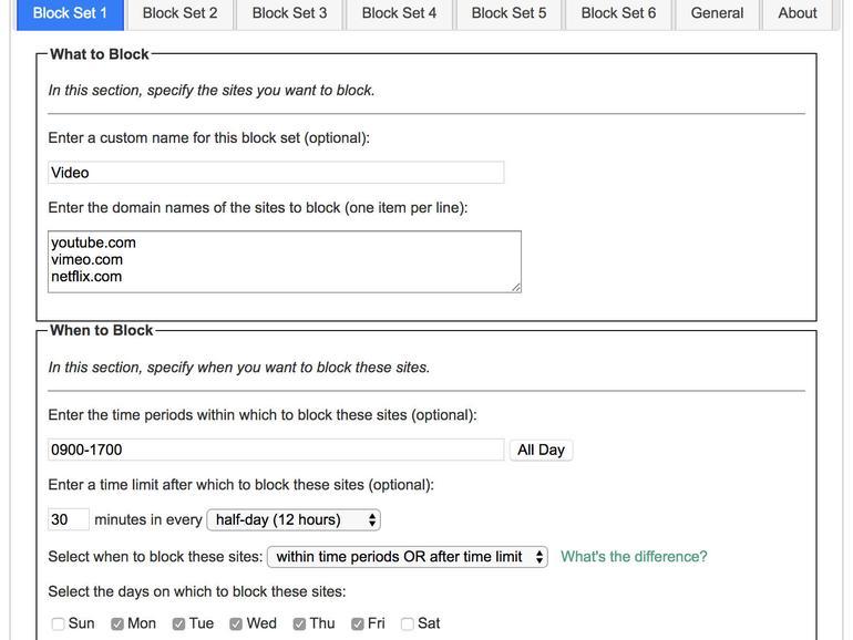 Leechblock will bei der Verbesserung des Konsumverhaltens auf Webangeboten helfen.