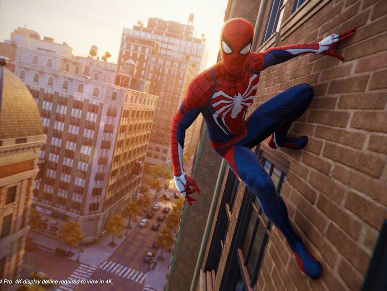 """Nach """"God of War"""" und """"Detroit: Become Human"""" stellt """"Marvel's Spider-Man"""" den krönenden Abschluss des  Spiele-Jahrgangs 2018 auf der Playstation dar."""