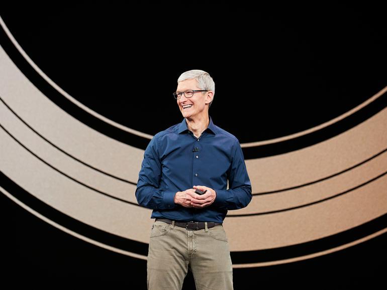 Apple-CEO Tim Cook erklärt Schutz der Privatsphäre zur Chefsache