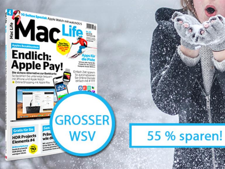 Mac Life im Winterschlussverkauf