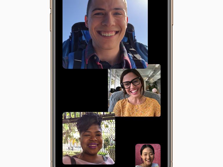 Gruppengespräche mit FaceTime