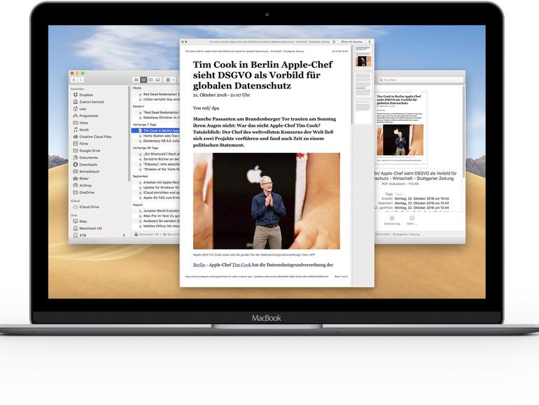 Quick Look wurde in macOS Mojave noch besser