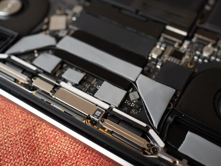 Thermal Pads im MacBook Pro
