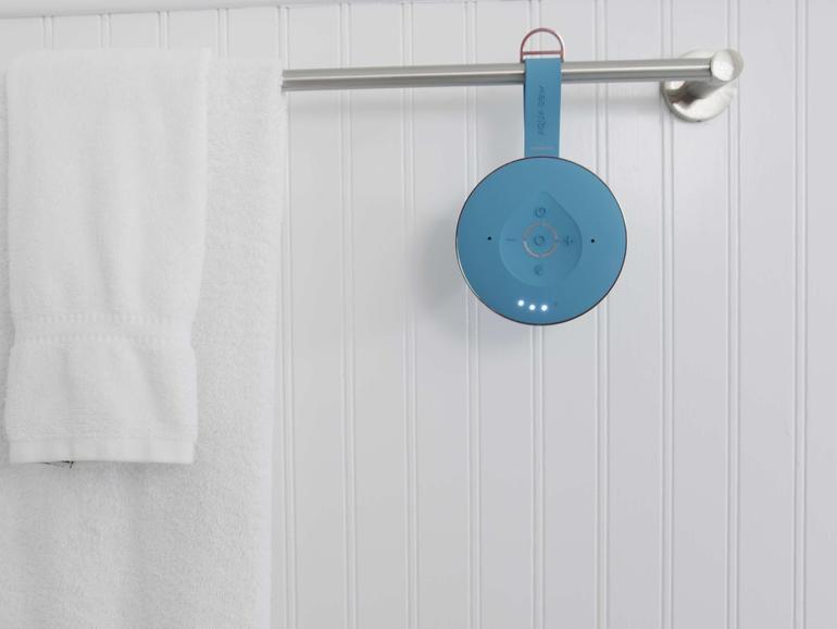 Mit Alexa unter der Dusche singen dank Aqua Dew.