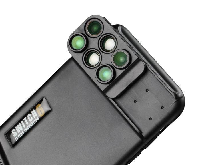 Sechs Linsen für das iPhone rüstet Ztylus nach.