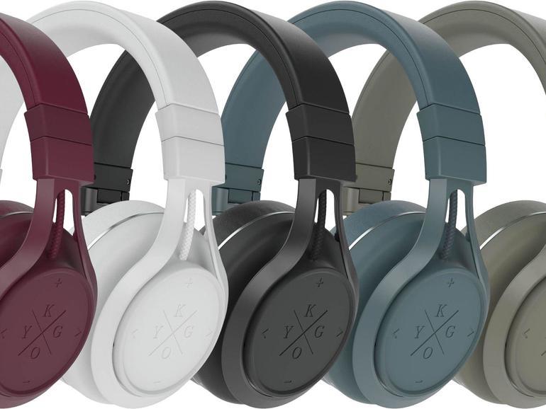 Von Burgundy bis Palm: Der Kygo A9 / 600 BT gehört mit seinem skandinavischen Design zu den stylischsten Kopfhörern am Markt.