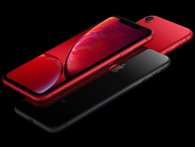 Aktuell gibt es nur das iPhone XR in rot