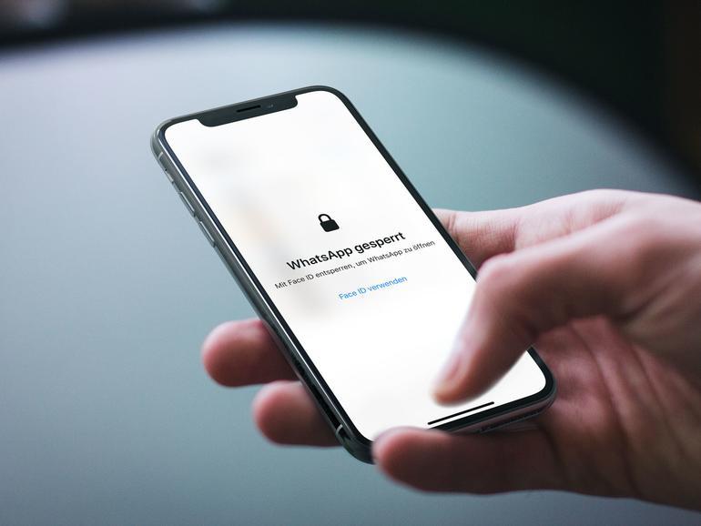 WhatsApp: Sicherheitslücke bei Entsperrung durch Face ID/Touch ID