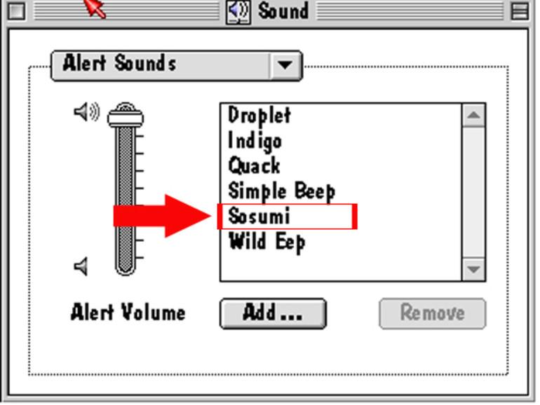 Sosumi Systemsound am Apple II