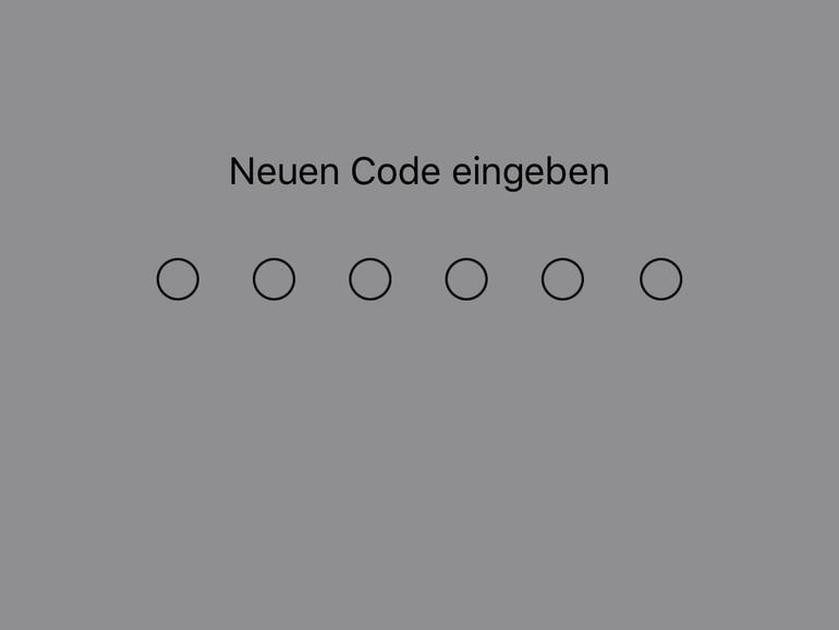Gerätecode ändern