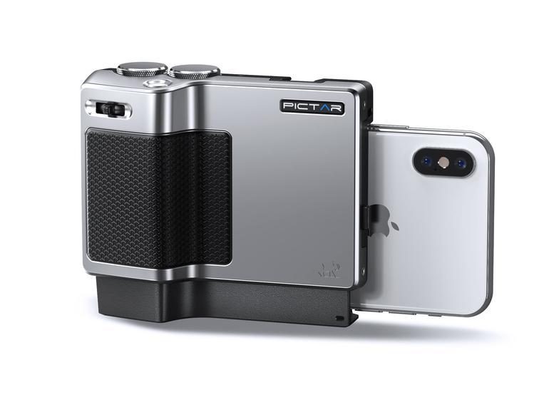 """Pictar Pro verwandelt das iPhone in eine """"echte"""" Digitalkamera."""