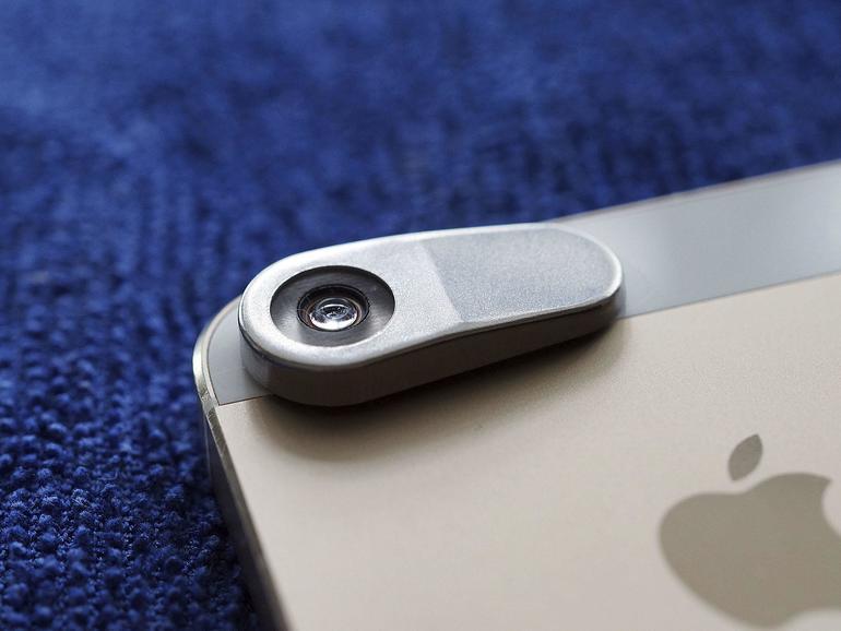 iMicro verwandelt das iPhone in ein Mikroskop.