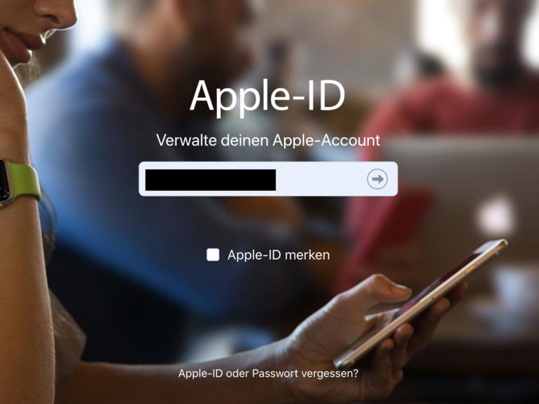 Apple-ID zurücksetzen