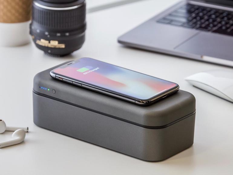 Bentostack Charge: schmuckes Kästchen für gesammeltes Apple-Zubehör.