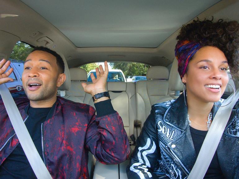 Szene aus Carpool Karaoke: The Series