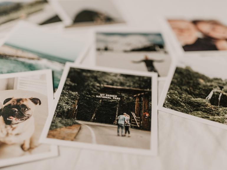 Fotos sicher speichern
