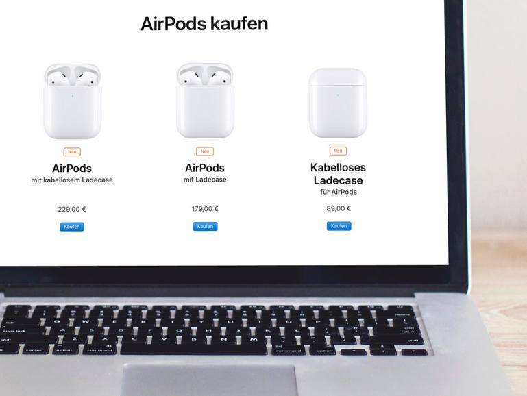 Die neuen AirPods kosten ab 179 Euro.