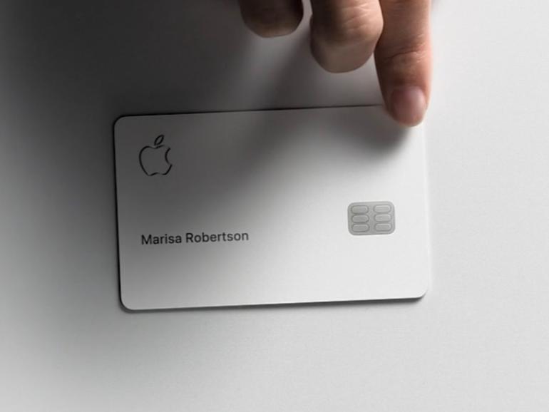 """Die Apple Card besteht in ihrer """"Hardware""""-Version aus Titan."""
