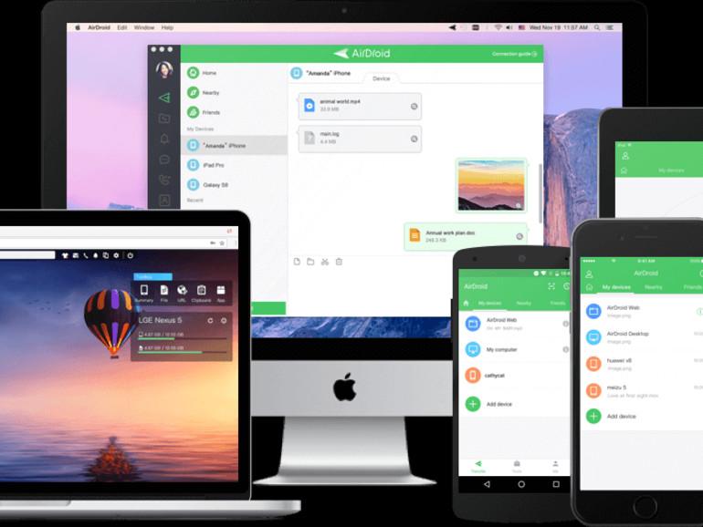 AirDroid hilft beim Dateitausch mit Android-Geräten und mehr