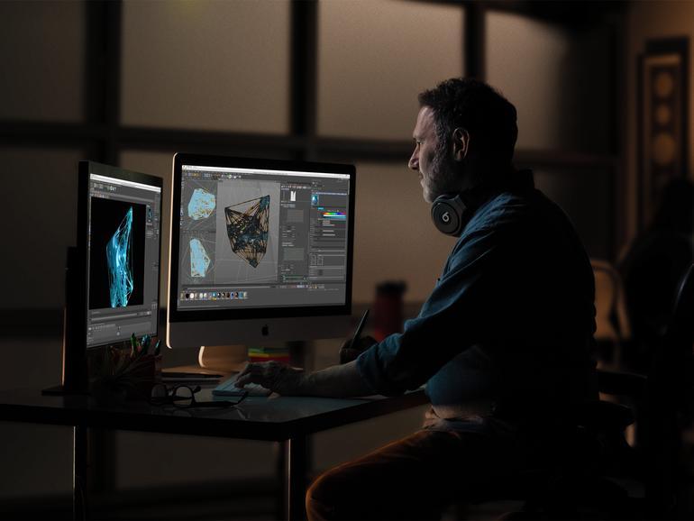 Die neuen Prozessoren und Grafikkarten sorgen noch einmal für einen Leistungsschub und erweitern das Einsatzgebiet des iMac