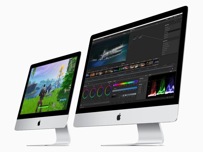 Auch im Jahr 2019 bietet Apple den iMac in den Displaygrößen 21,5 und 27 Zoll an