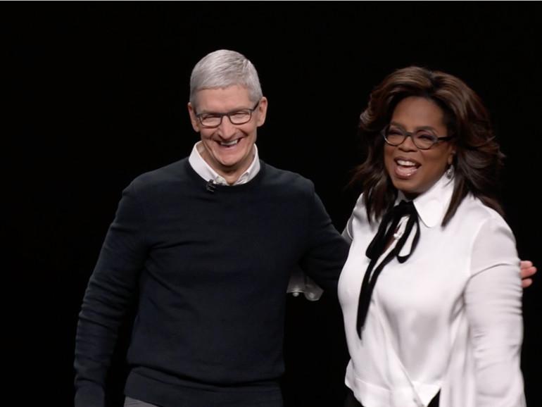Apple TV+: Prinz Harry und Oprah arbeiten an Doku-Serie