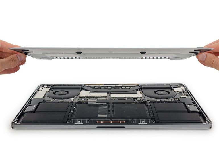 MacBook Pro mit Touch Bar auseinander nehmen